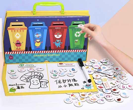 优力优垃圾分类磁性教具